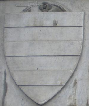 Amidei - Ancient coat of arms of Amidei on Santa Maria Novella