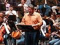 Stephen Gould, Ensaio Tristán e Isolda, Palacio da ópera, A Coruña 8.JPG
