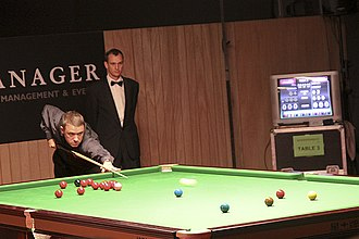 Stephen Hendry - Hendry at the Brugge Open 2010