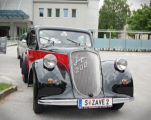 Steyr-Daimler-Puch - Steyr 200