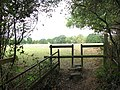 Stile into horse pasture - geograph.org.uk - 1533473.jpg