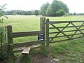 Stile on Greensand way towards Shipbourne - geograph.org.uk - 1399550.jpg