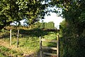 Stile on the Greensand Way, Wickhurst Manor - geograph.org.uk - 1381357.jpg