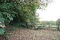 Stile on the footpath near Scriventon - geograph.org.uk - 1544239.jpg