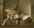 Still Life with a Dead Bird and Hunting Gear (Guillaume Taraval) - Nationalmuseum - 18403.tif
