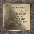 Stolperstein Jahnstraße 3 Cecilie Zuntz.jpg