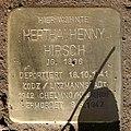 Stolperstein Kantstr 32 (Charl) Hertha Henny Hirsch.jpg