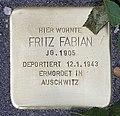 Stolperstein Motzstr 82 (Wilmd) Fritz Fabian.jpg