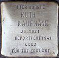 Stolpersteine Köln, Ruth Kaufmann (Kartäuserwall 7).jpg