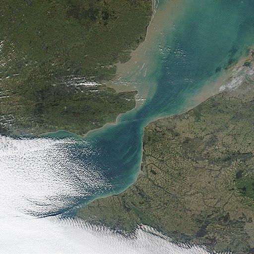 Strait of Dover MODIS
