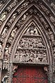 Strasbourg Cathedral - Left Door Arch (7684354538).jpg