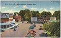 Street scene, N. E. Side public square, Lexington, Miss. (5528924083).jpg