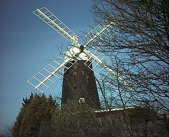 Stretham - Image: Stretham Windmill