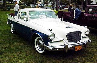 Studebaker Silver Hawk car model