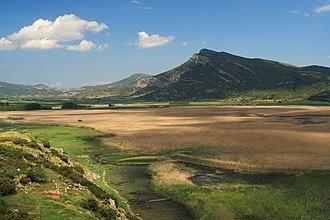 Lake Stymphalia - East view of the Lake