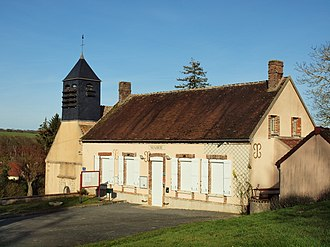 Subligny, Yonne - Image: Subligny FR 89 mairie 1