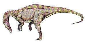 Lebendrekonstruktion von Suchomimus tenerensis