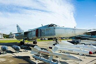 Sukhoi Su-24 - Sukhoi Su-24MR at Kubinka airbase