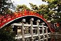 Sumiyoshi Taisha Taikobashi (drum bridge) 2.jpg