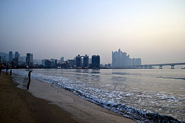 Sunrise at Gwangalli Beach.jpg