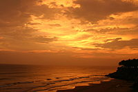 Tourism in Kerala - Varkala Beach