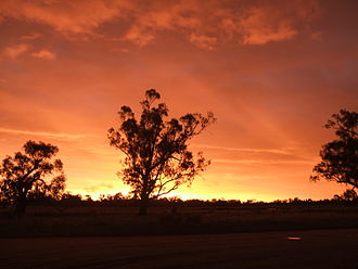 Warren, New South Wales - Warren NSW, Home to an array of beautiful sunsets