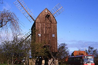 Svaneke - Image: Svaneke post mill
