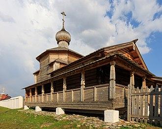 Sviyazhsk - Image: Sviyazhsk Ioanno Predtechensky Convent 08 2016 img 4