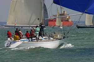 Swan 391 - Swan 391 - Delnic - FRA 9210 at the 2011 Swan Europeans in Cowes (GBR) held by the Royal Yacht Squadron