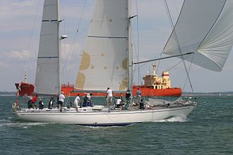 Swan 65 - Swan 65-024 ketch - GBR 1665 - Desperado at the 2011 Swan Europeans in Cowes (GBR) held by the Royal Yacht Squadron