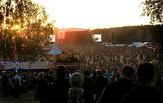 Sweden Rock Festival Swedish heavy metal music festival