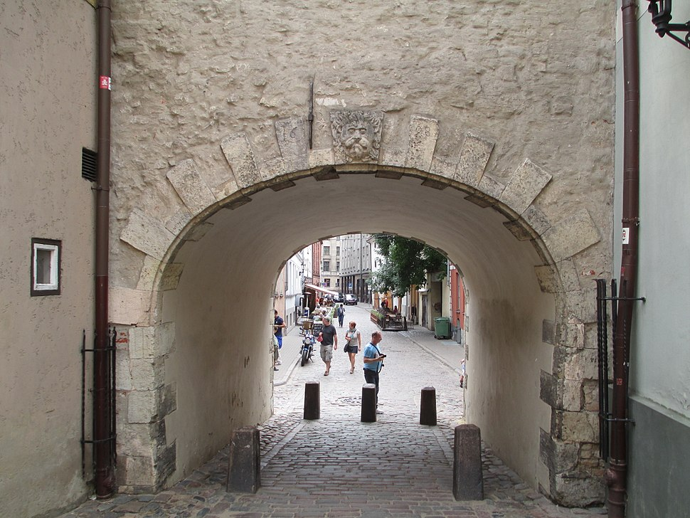 Swedish Gate in Riga