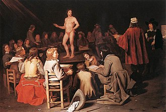 Visual arts education - The Drawing Class, by Michiel Sweerts, c. 1656