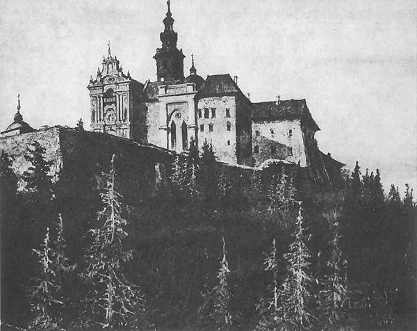 Święty Krzyż - Michał Elwiro Andriolli 1895r. Domena publiczna.