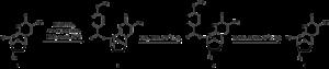 Diethyl azodicarboxylate - Synteza AZT z tymidyny