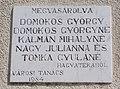 Tábla (1984), Kossuth utca 19, saroktorony, 2017 Hajdúnánás.jpg
