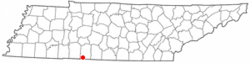 Location of St. Joseph, Tennessee