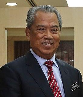 Muhyiddin Yassin Malaysian politician