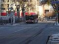TTC bus 7793 proceeding west on the Esplanade, 2015 01 13 (7) (16280872475).jpg