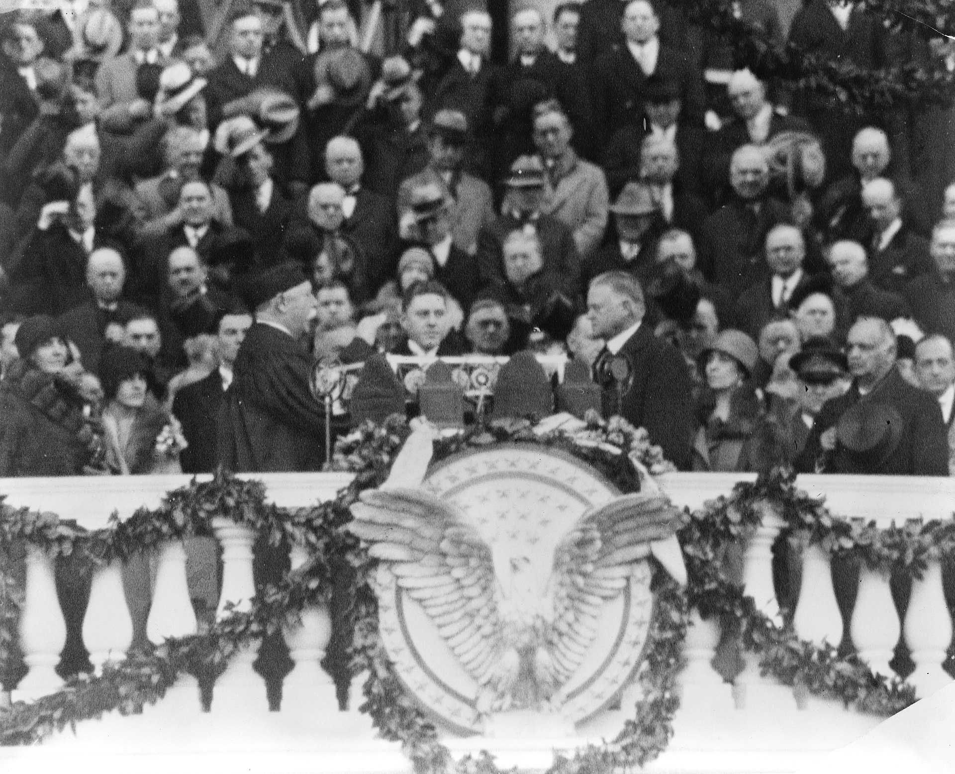 Inauguration of Hoover
