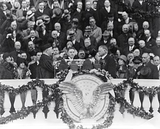 Presidency of Herbert Hoover - Inauguration of Hoover