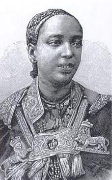 Taytu Betul, reine d'Ethiopie