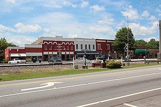 Tallapoosa, Georgia - Downtown Tallapoosa