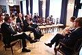 Tallinn Digital Summit press presentation by President Kersti Kaljulaid- Digital innovation and Estonia's ambitions (36660068594).jpg