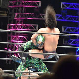 Tama Tonga - Tonga performing the Veleno on Captain New Japan