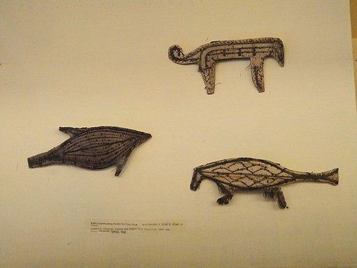 Tapa printing forms, Tonga - Pacific collection - Peabody Museum, Harvard University - DSC05751