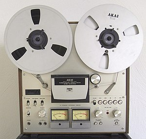 Akai - Tape recorder GX-630D