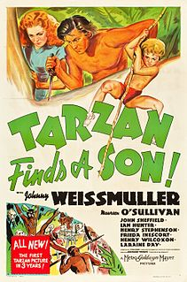 <i>Tarzan Finds a Son!</i> 1939 film by Richard Thorpe