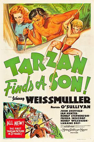 Tarzan Finds a Son! - Image: Tarzan Finds a Son! (movie poster)