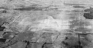 Taylor Field (Airfield) - Taylor Field in 1945.  Note some of the World War I facilities remaining for use as an auxiliary of Gunter AAF.